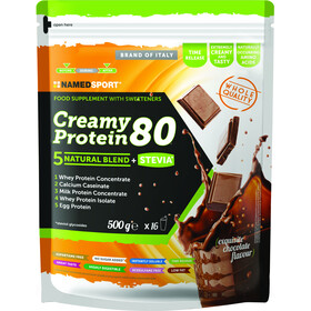 NAMEDSPORT Creamy Protein 80 Boisson 500g, Exquisite Chocolate